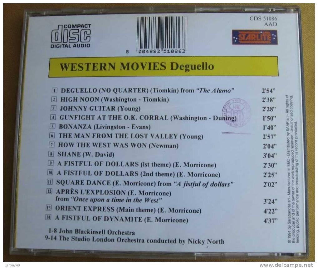 1 Cd Western Movies - Deguello - Country & Folk