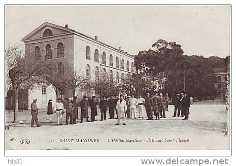 Dép 83 - Santé - Militaria - Saint Mandrier Sur Mer - Hôpital Maritime - Bâtiment Saint Flavien - Bon état Général - Saint-Mandrier-sur-Mer