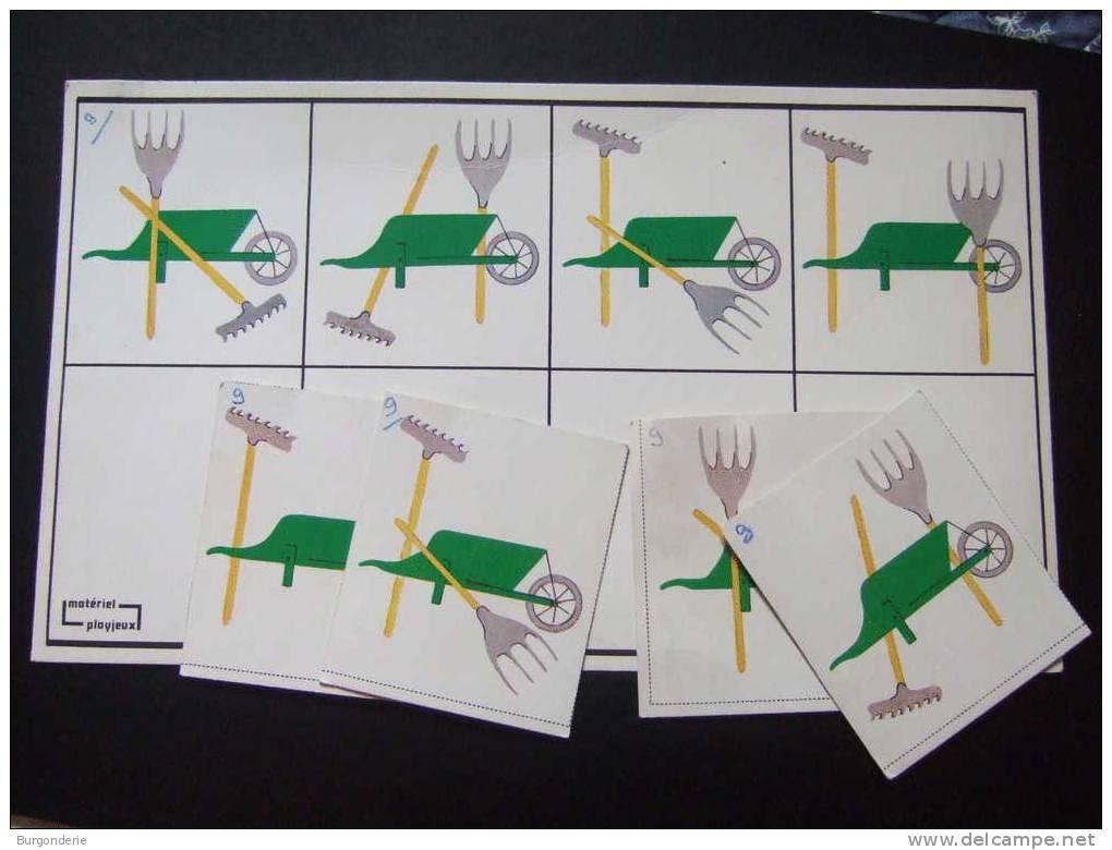 Maternelle ancien carton de jeux avec images les outls for Le jardin voyageur maternelle