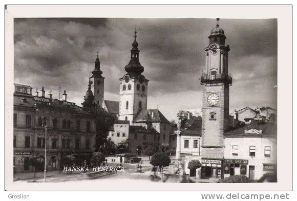 BANSKA BYSTRICA (SLOVAQUIE) CP PHOTO - Slovaquie