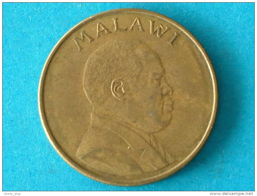 ONE KWACHA 1996 - KM 28 ( For Grade, Please See Photo ) ! - Malawi