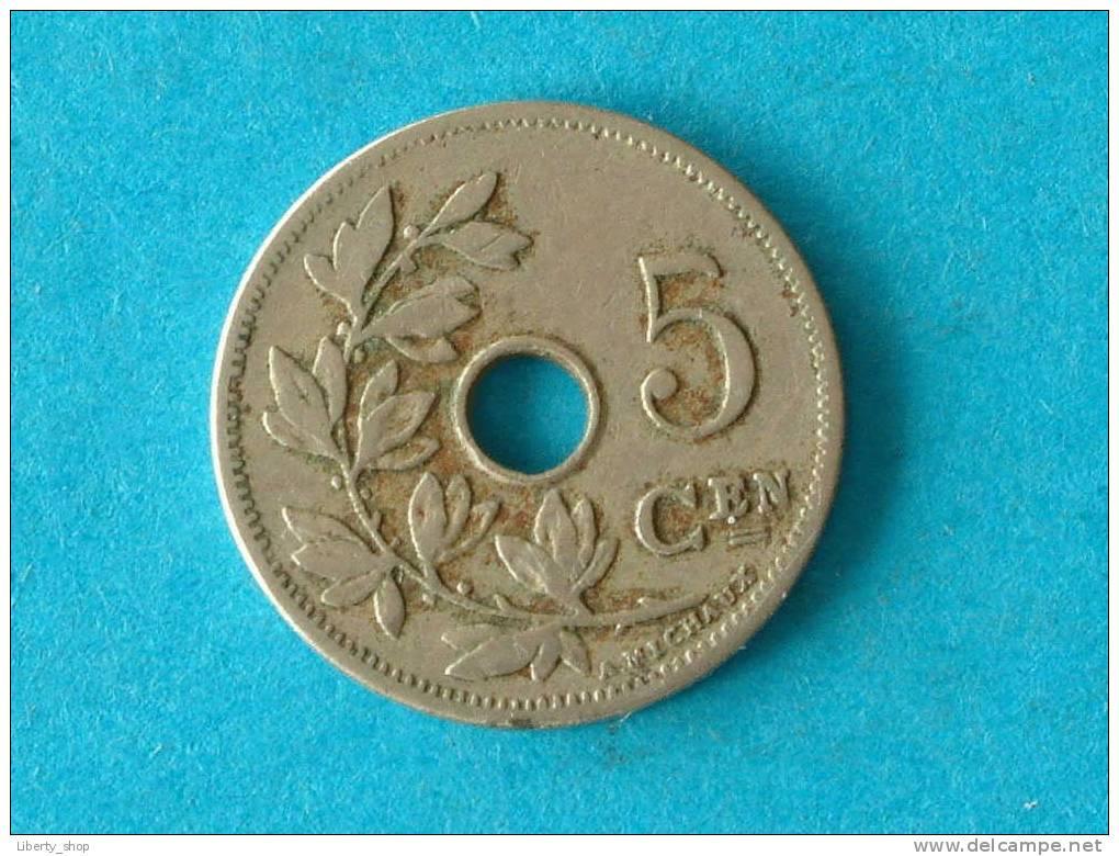 1904 VL ( 274 ) - ( For Grade, Please See Photo ) ! - 1865-1909: Leopold II