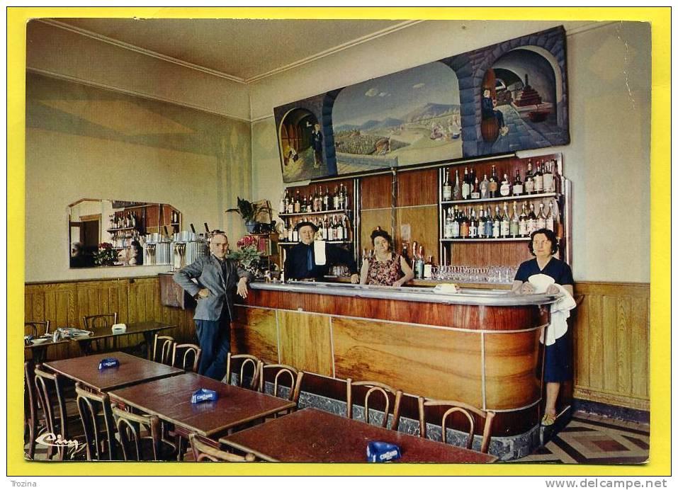 26 - SAINT RAMBERT D´ALBON - HOTEL BRUN -LE BAR  .téléphone 3 - Non Classificati