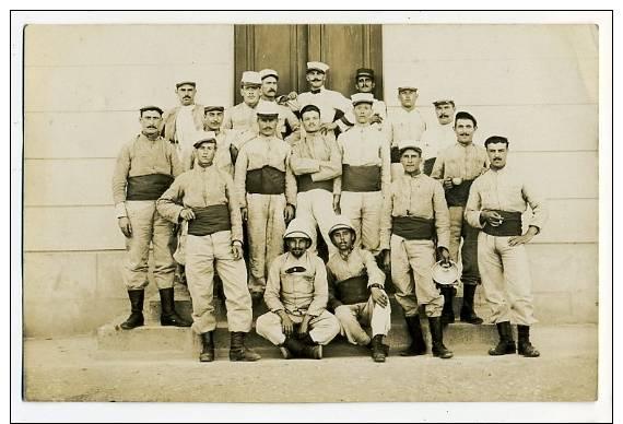 Algérie. Hussein Dey. Carte Photo. Légionnaire. Soldat, Militaire - Algeria
