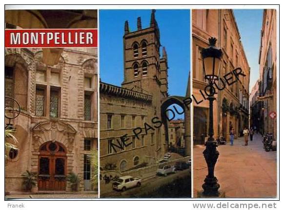 CP34235 - MONTPELLIER - Centres Universitaires Et Hospitaliers - Montpellier