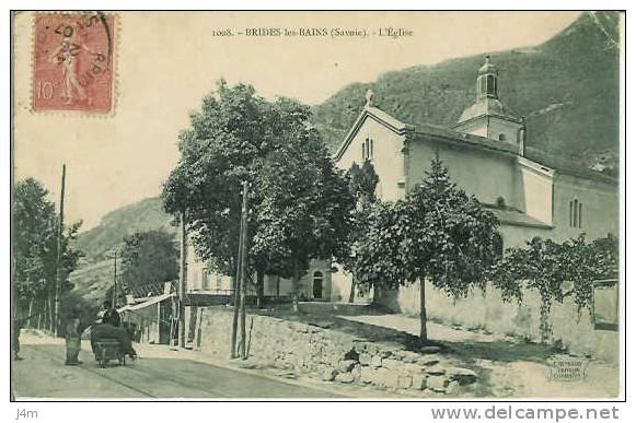 73/ SAVOIE... BRIDES Les BAINS: L´Eglise - Brides Les Bains