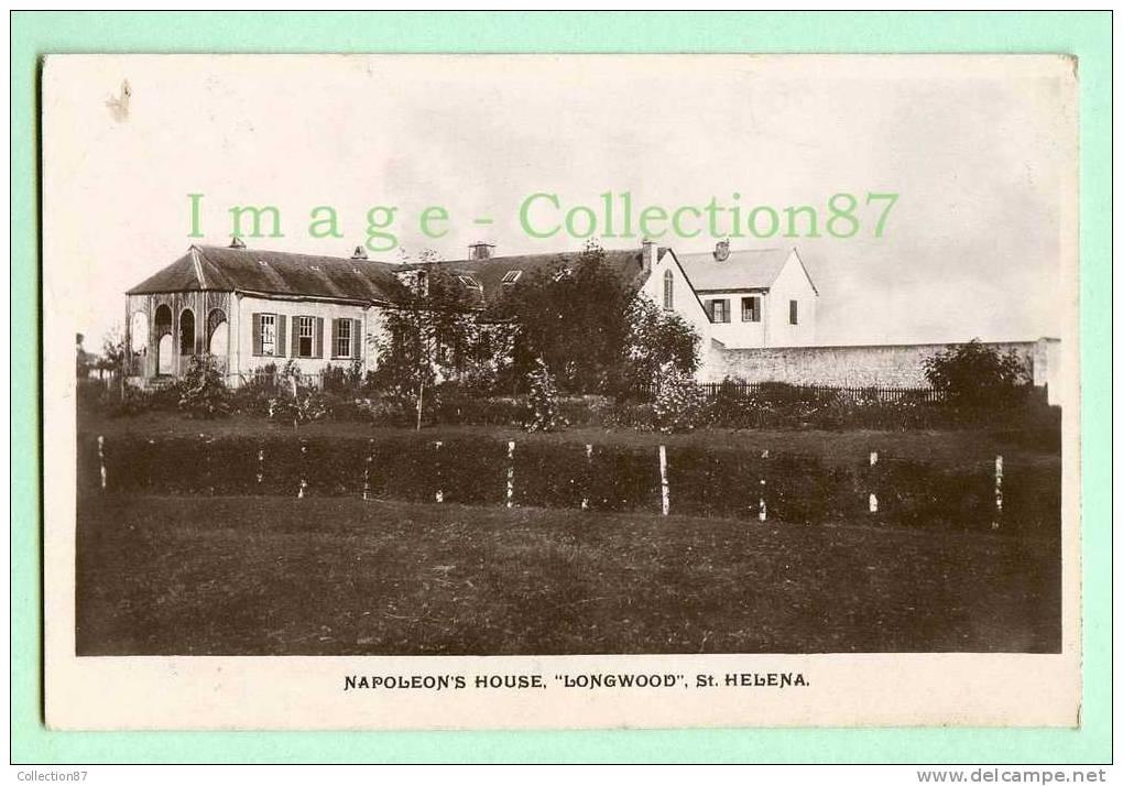 """ANTILLES - ILES VIERGES - ST HELENA - MAISON NAPOLEON - NAPOLEON´S HOUSE """" LONGWOOD """" - Vierges (Iles), Britann."""