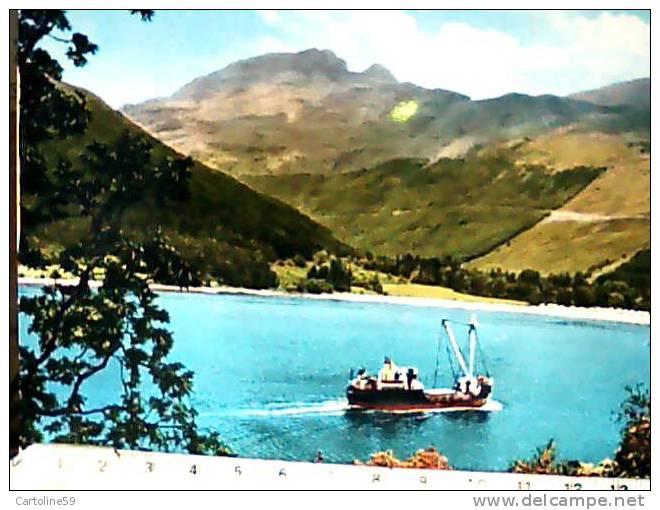 SCOTLAND ARGYLLNAVE SHIP CARGO  N1955 CB3966 - Argyllshire