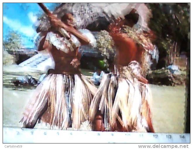 FIJI ISOLE DANZA FOLK UOMINI N1970 CB3973 - Figi