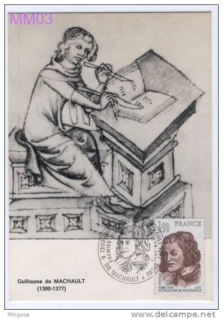 Guillaume De Machault 1977 - Caixa # 3 - Cartoline Maximum
