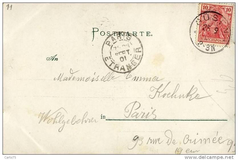 Pologne - Gruss Aus Stettin - Güben - Menzelbrunnen - Pologne