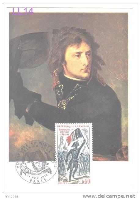 Bonaparte Au Pont  D´ Arcole 1972 - Caixa # 3 - Cartoline Maximum