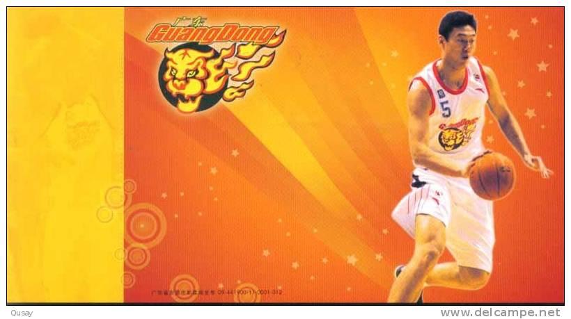 Su Wei - Player  - Guangdong Hongyan Basketball Team , Prepaid Card, Postal Stationery - Basketbal