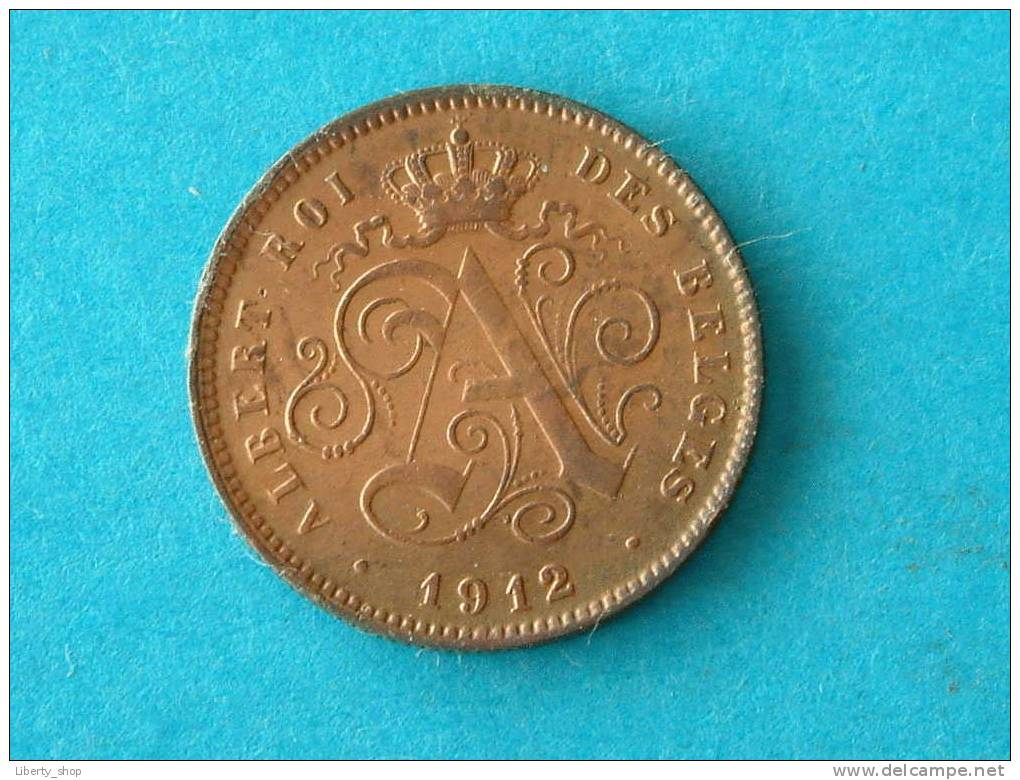 1912 FR ( 312 ) - ( For Grade, Please See Photo ) ! - 1909-1934: Albert I