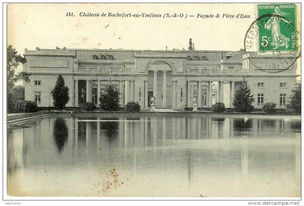 YVELINES 78.CHATEAU DE ROCHEFORT EN YVELYNES - France