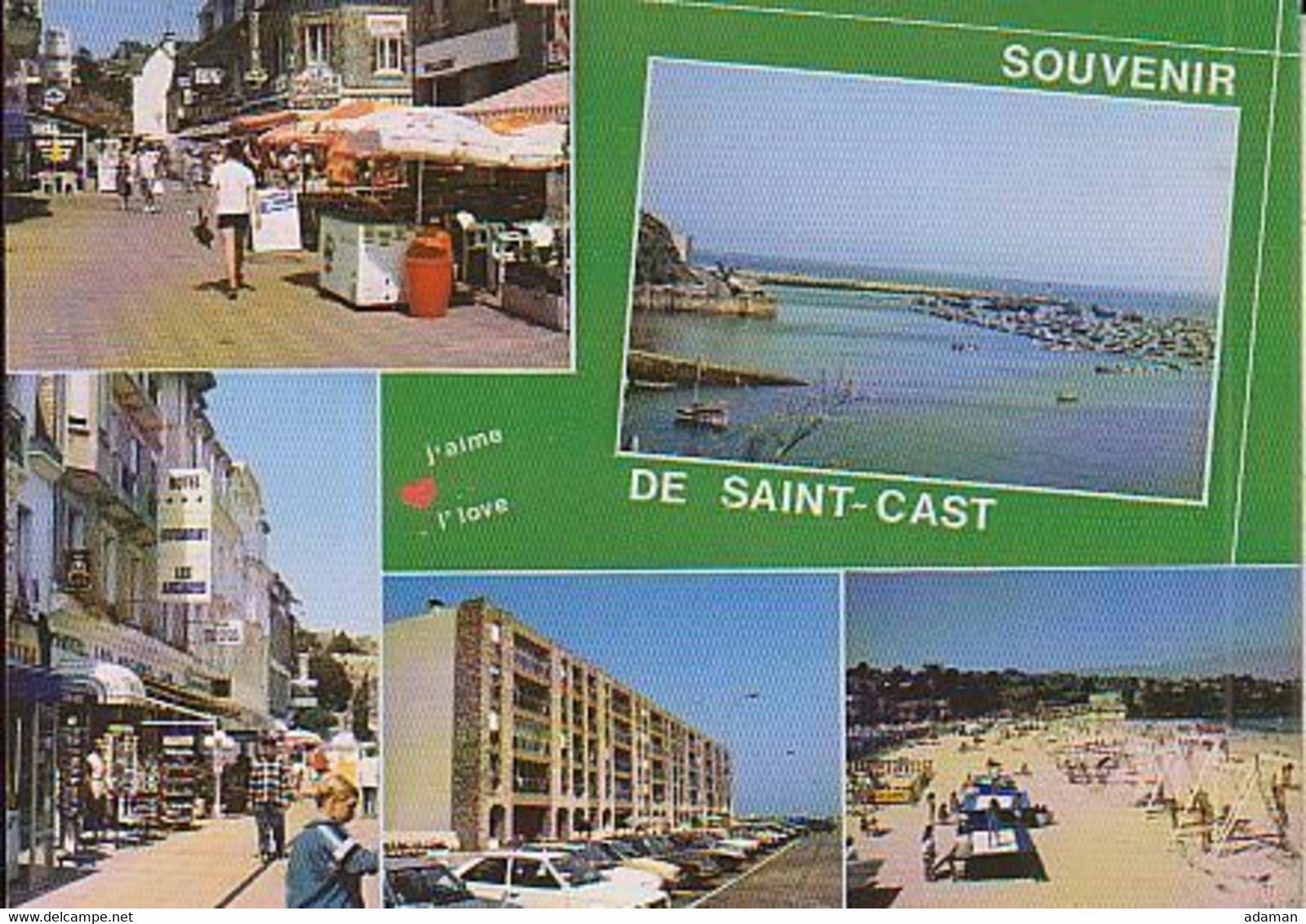St Cast    5 Vues Diverses. - Saint-Cast-le-Guildo