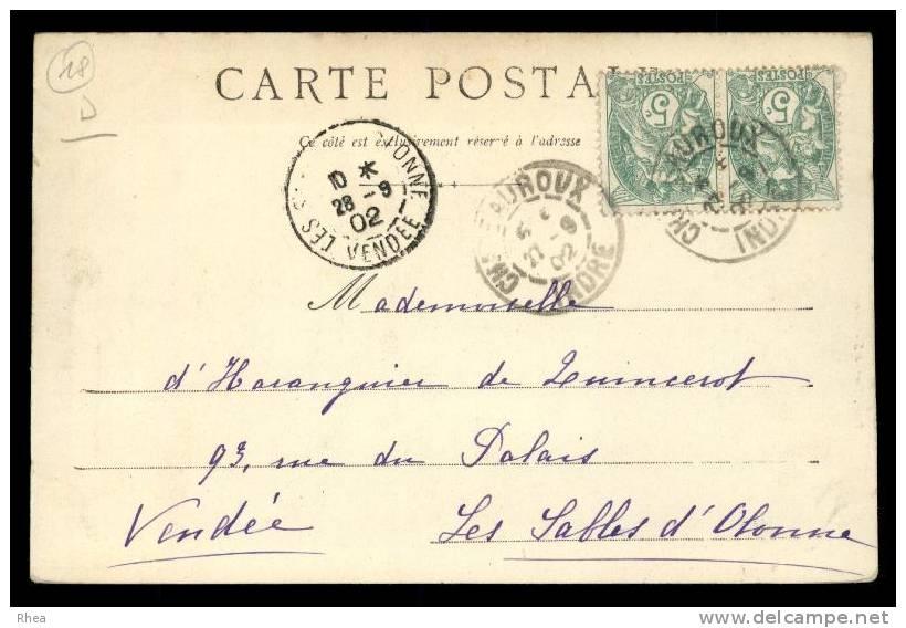 18 Saint-Florent-sur-Cher Chateau D18D K18055K C18207C RH080480 - Saint-Florent-sur-Cher