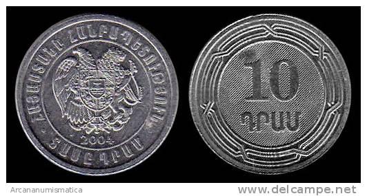 ARMENIA    10  DRAMS  2.004  KM#112   AL   SC/UNC      DL-7193 - Armenia