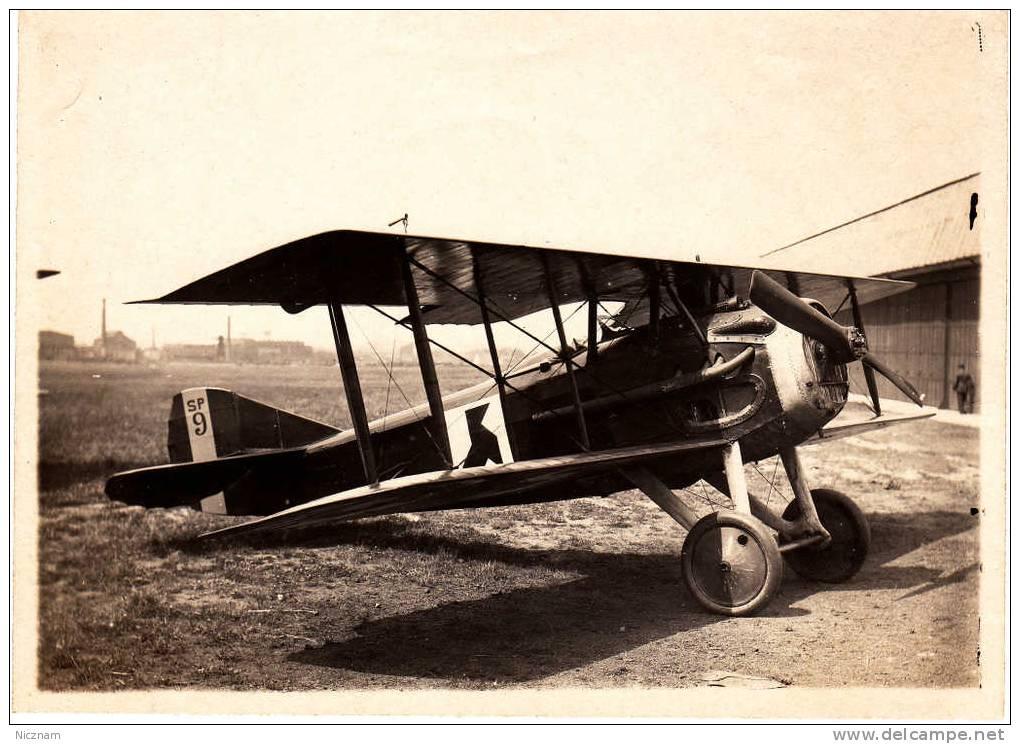 A VOIR / Photo (non CPA) / Tirage Original / Aviation Entre Deux Guerres / Avion De Chasse Spad Monoplace / 17 X 12 Cm - Luchtvaart