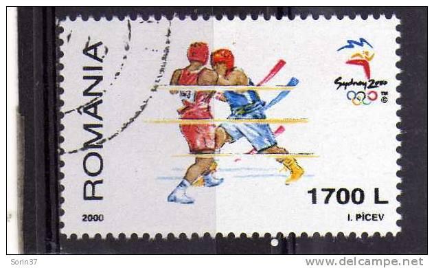 Sello De Romania  Año 2000  Usado - Usado