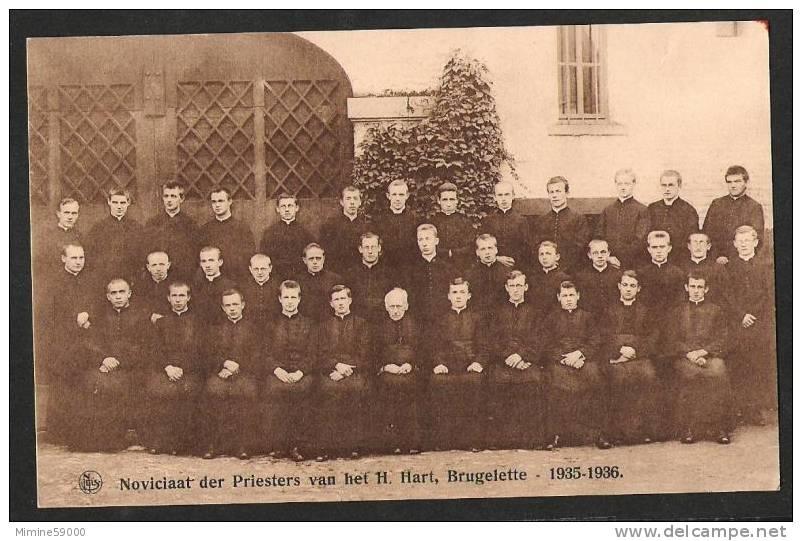 Noviciaat Der Priesters Van Het H. Hart BRUGELETTE 1935-1936 ( R 1334 ) - Brugelette