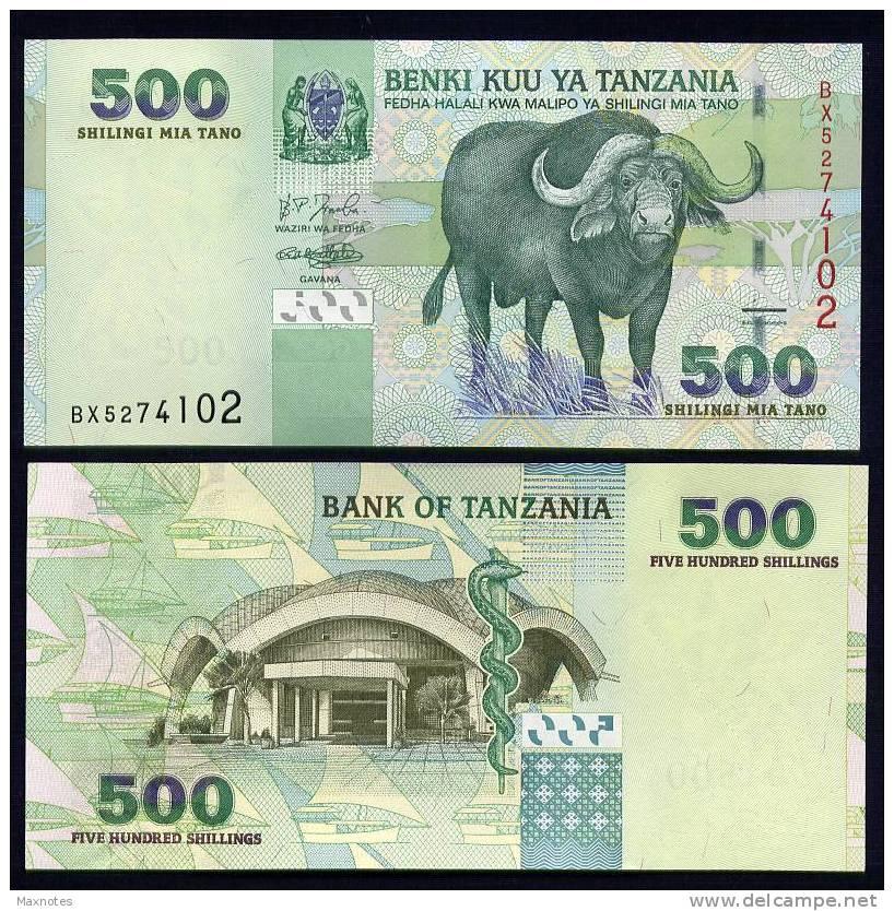 TANZANIA : Banconota 500 Scellini -  FDS - Tanzania