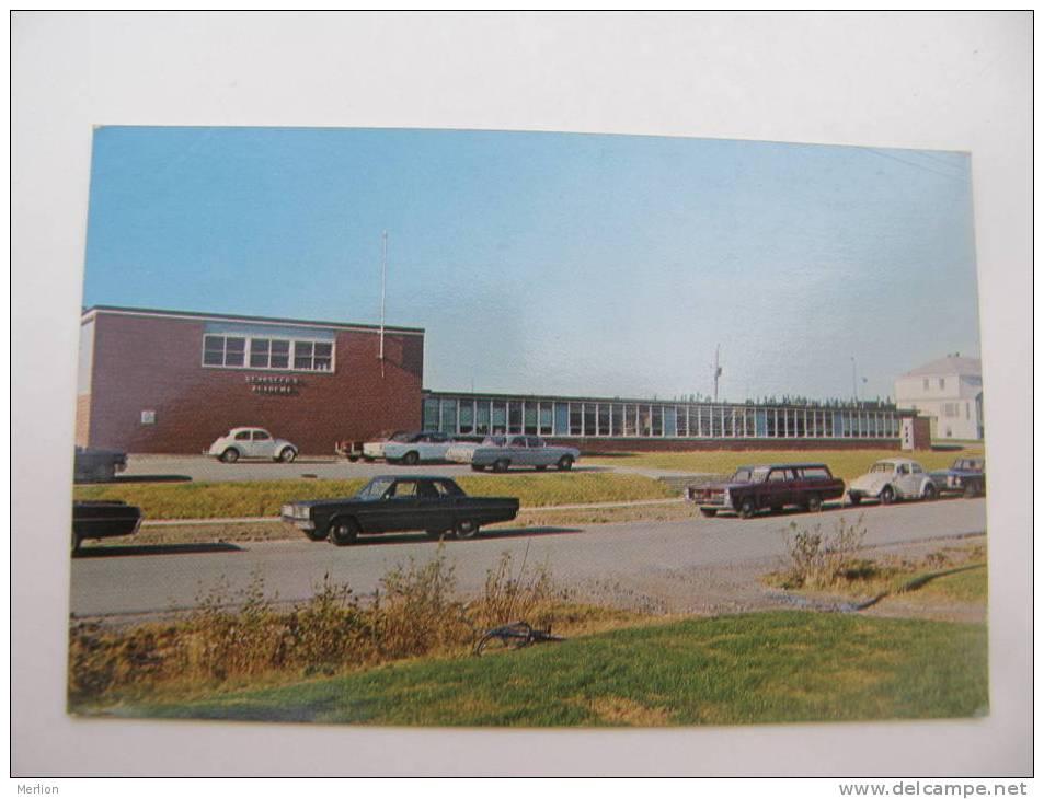 Canada - Gander - St.Josephs Academy - Newfoundland -automobile  Cca 1960's      VF D56326 - Newfoundland And Labrador