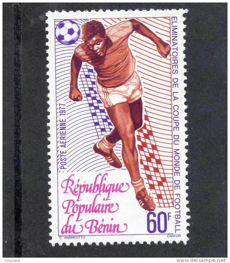 BENIN :  Eliminatoire De La Coupe Du Monde De Foot : Phase De Jeu (Tête) - Bénin – Dahomey (1960-...)