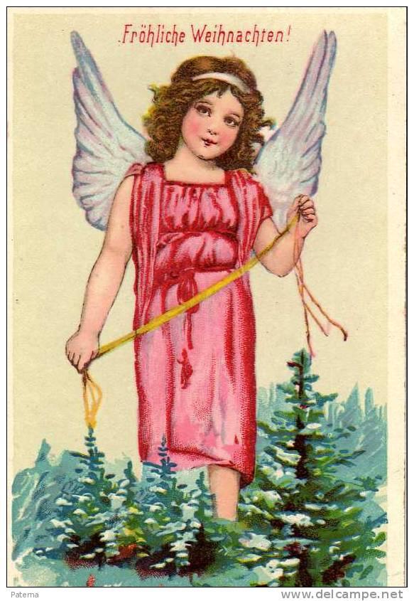 ANGEL ROSA, Felicitacion   Post Card - Angeles