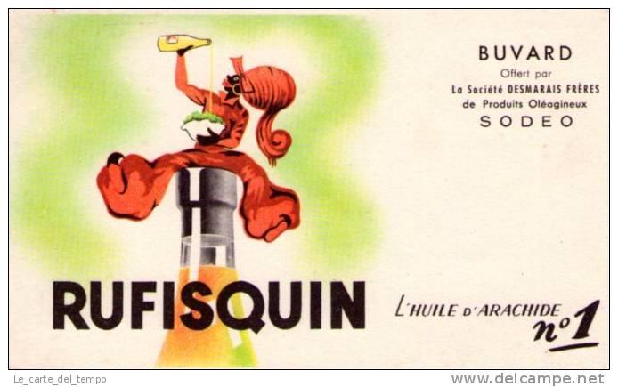 BUVARD : RUFISQUIN L´huile D´arachide - SODEO - Alimentare