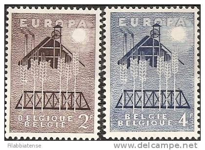1957 - Belgio, - Europa-CEPT