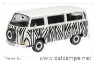 Schuco 00191, VW T2a Safari, 1:18 - Schuco