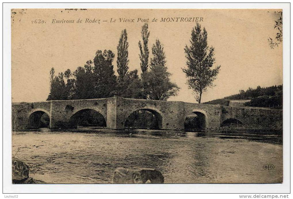 12 - MONTROZIER - Le Vieux Pont - Excellent état - France
