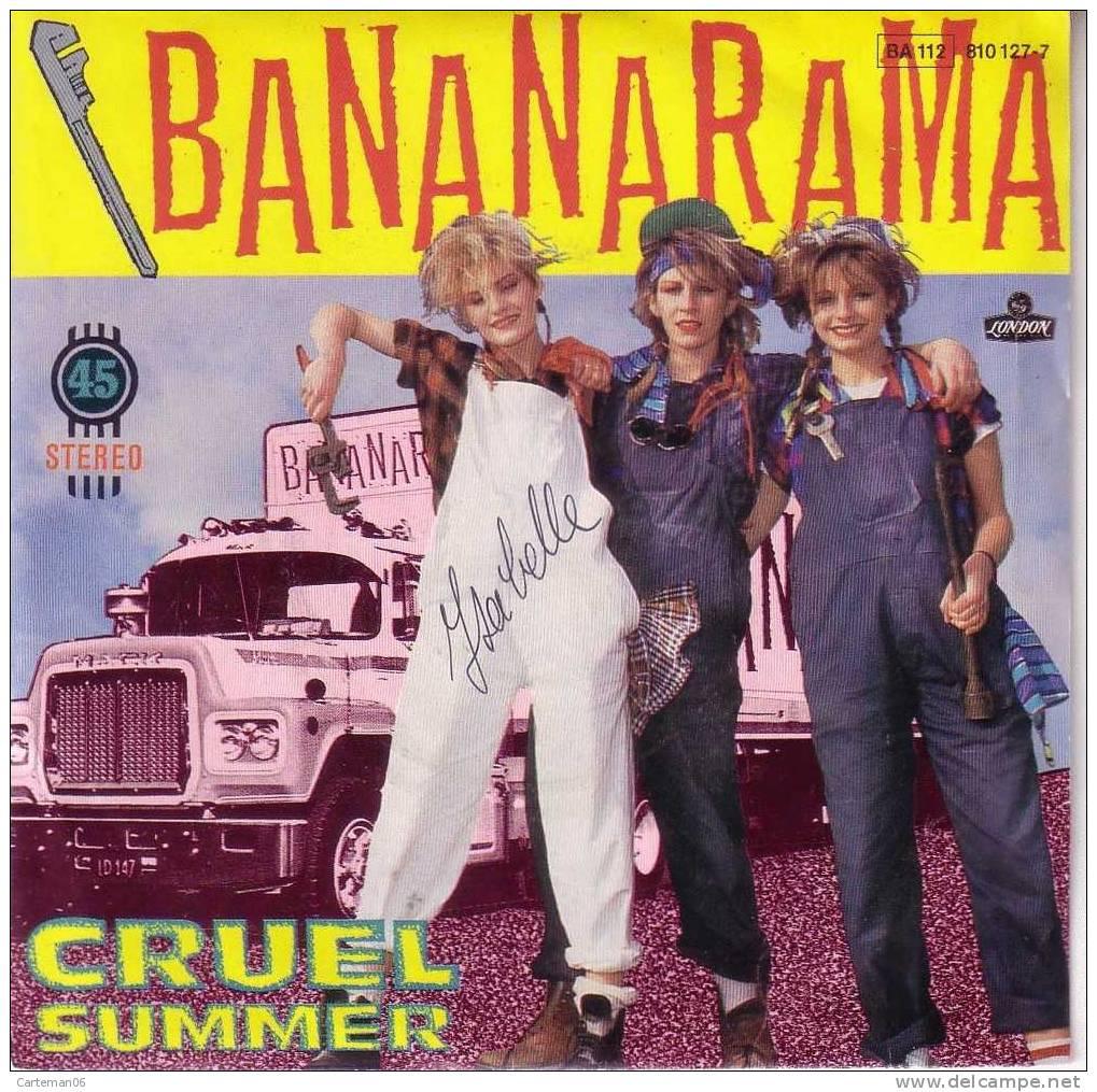 45 T - Bananarama - Cruel Summer - Disco, Pop