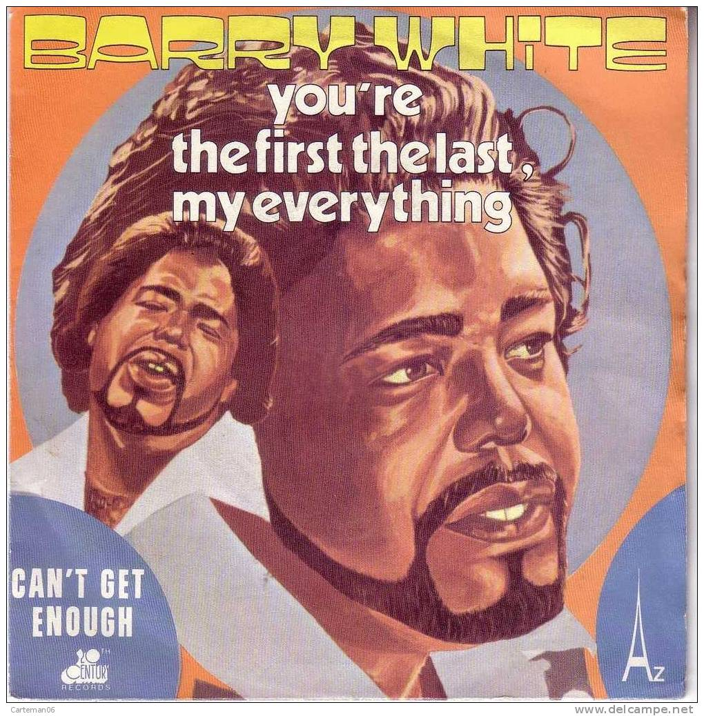 45 T - Barry White - You´re The First The Lasr, My Everything - Disco, Pop