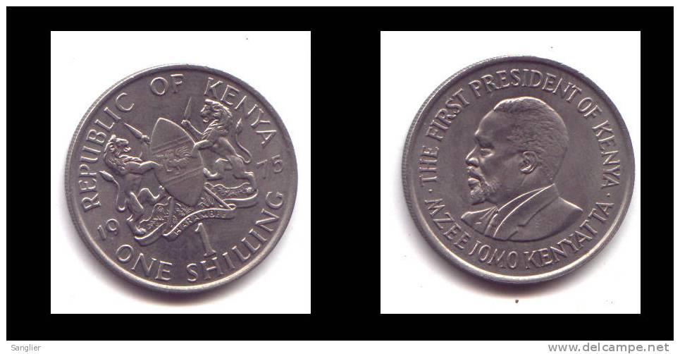 1 SCHILLING 1975 - Kenia