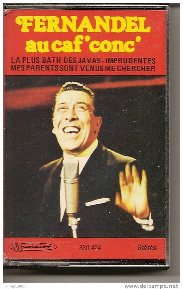 """K7 Audio - JEAN-PIERRE FERLAND """" AU CAF'CONC' """" 12 TITRES - Cassettes Audio"""