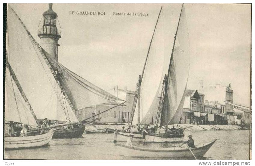 Retour De La Pêche - Le Grau-du-Roi