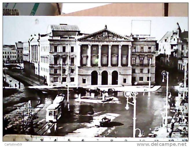 ROMANIA - VEDERE DIN ARAD  TRAM TEATRO ? VB1968 CD5889 - Romania