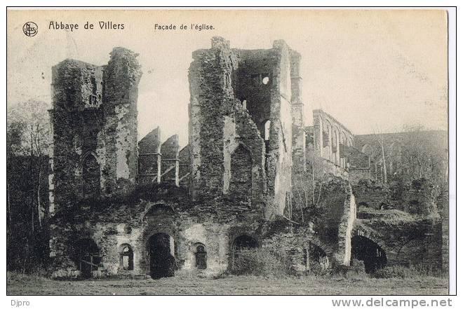 Abbay Villers  Facade De L'eglise - Villers-la-Ville