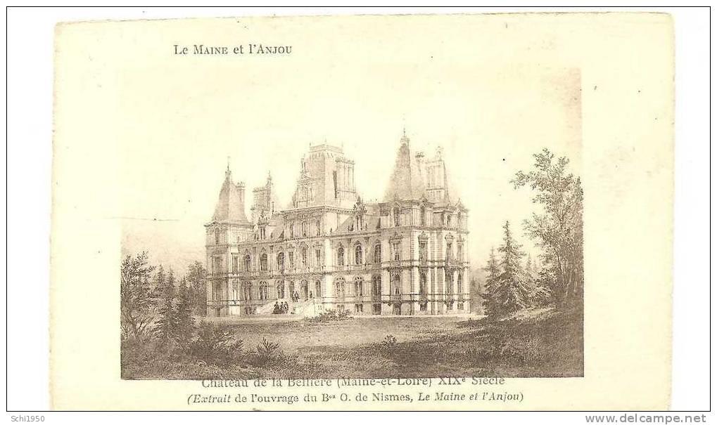 PM -      Le Château   De La  Bellière ( Maine-et-Loire ) - Castles