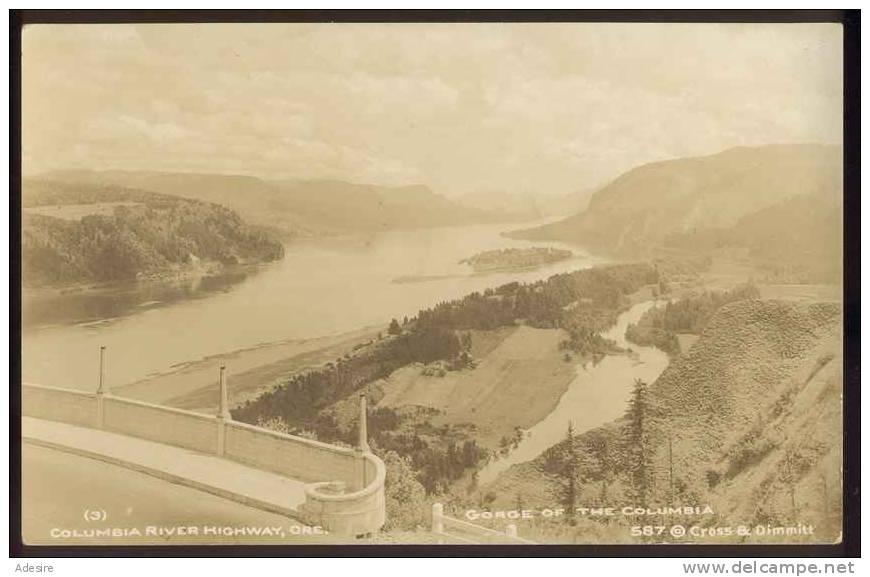 COLUMBIA, River Highway, Ore, Ungel.um 1920 - Kolumbien