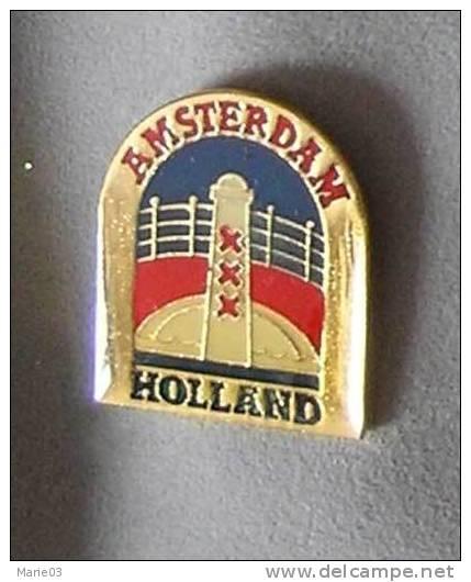 Pin's   Amsterdam - Phare - Steden