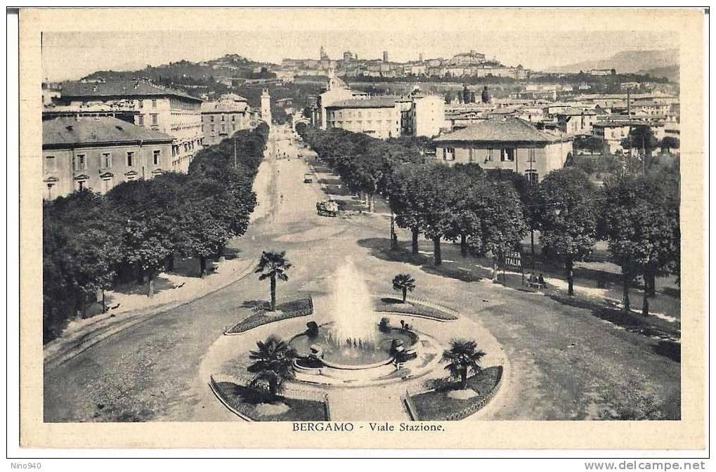BERGAMO - Viale Stazione - F/p - N/v - Epoca - Bergamo
