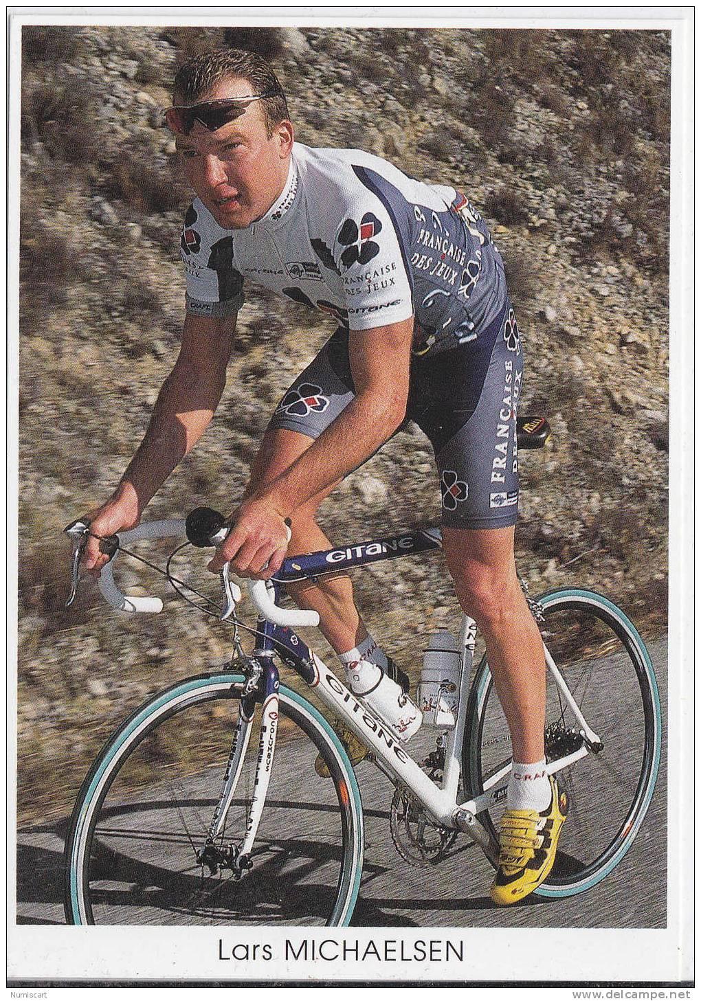 Cyclisme Vèlo Coureurs Tour De France Sports....lars Michaelsen... - Cyclisme