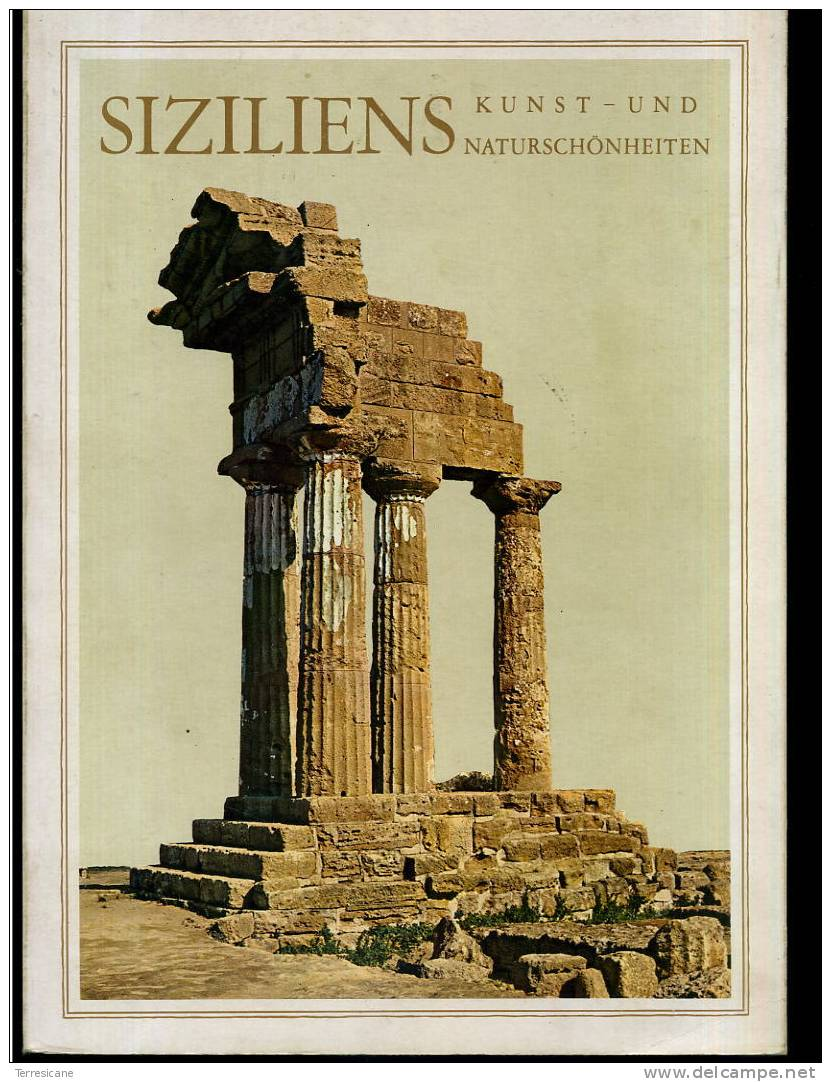 SIZILIENS KUNST  - UND NATURSCHONHEITEN128 PAG. - Italia
