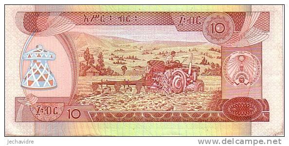 ETHIOPIE   10 Birr   Emission De 1991   Pick 43b    ***** QUALITE  XF ***** - Ethiopie