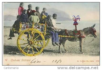 Palermo-Costumi Siciliani-1902 - Palermo