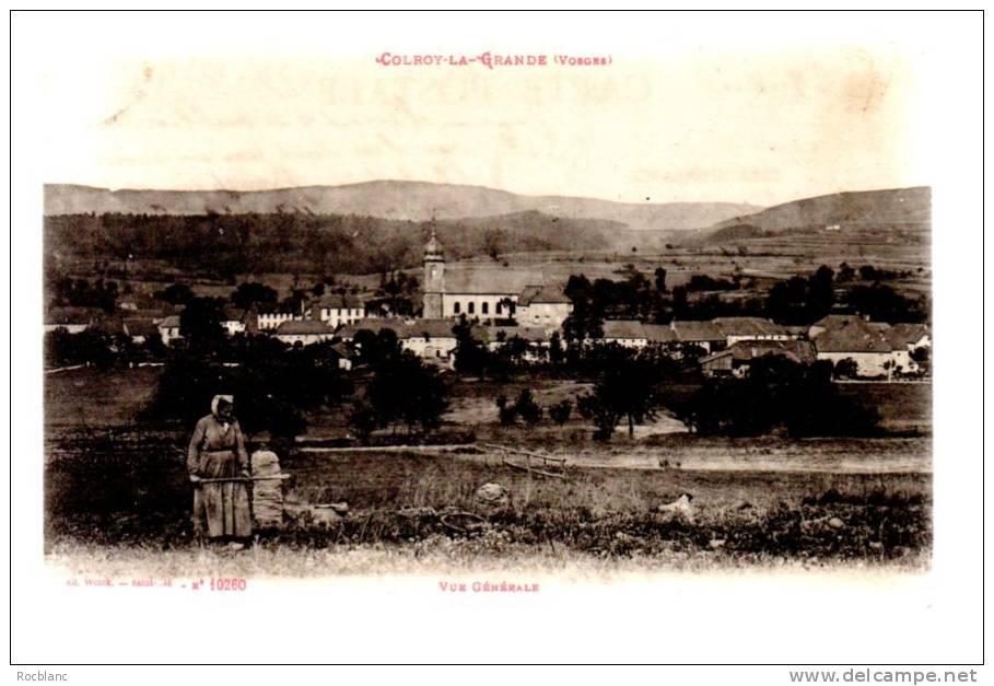 RO/ 24/10/09 (88-1) VOSGES, Colroy La Grande, Vue Générale - Colroy La Grande
