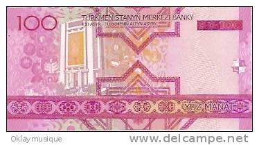 Turkmenistan 100 Manat - Turkménistan